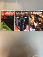Lot Of 3 Black Panther Comics Books Marvel 522 515 World Of Wakanda 1