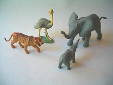 African Elephants Plastic Figures Safari Ltd. Realistic Also Tiger And Ostrich