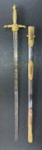 BEAUTIFUL GERMAN SWORD C.1820 ( Robe Sword) FOR ROYAL CEREMONIES