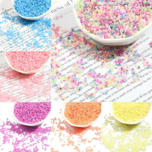 1000pcs 2mm Seed Beads Small Round Top Czech Glass Spacer Crafts Jewelry Making