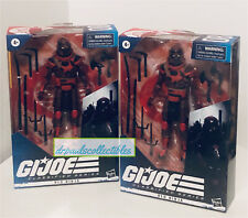 "GI Joe Classified Series #08 RED NINJA 6"" Figure  Brand New (lot Of 2)"