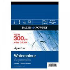 Daler Rowney Aquafine dipinto ad Acquerello carta Pad 12 fogli non 300gsm A4
