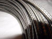 Bowdenzug Außenhülle Silber Geflochten 5 m Rolle Bremse und Schaltung 1,98€ je m