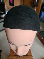 Hut Kopfbedeckung Schwarz 20er  Selten Sammler Nachlass Vintage