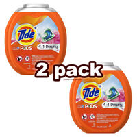 Tide PODS Plus Downy 4 in 1 HE Turbo Laundry Detergent Pacs 61 Count Tub New