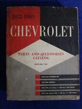1933 1960 Chevrolet Parts Catalog Bowtie Accessory Gm Book Auto Truck Fits 1947 Chevrolet Truck