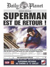 Rarissime Affiche Géante / PLV / Tenture -Superman Returns (2006) - NEUF !!