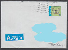 Belgium to Turkey Philatelic Cover ( Butterfly ) ( 422 )