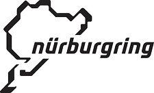 2 X NURBURGRING STICKER CAR VAN DECAL