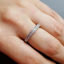 925 Sterling Silver Wedding Band / Engagement Ring Size 7