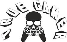 True Gamer Skull Call of Duty Wall Art Boys Room Sticker Vinyl