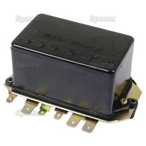 Voltage Regulator for Ford Tractor 21/4110 3400 3500 3550 4400 4500 5500 Backhoe