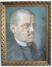 Porträt eines Herren, Fritz Schlüter, 1910