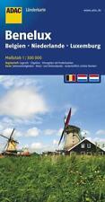 ADAC Länderkarte Benelux, Belgien, Niederlande, Luxemburg 1:300.000 - AD ... .