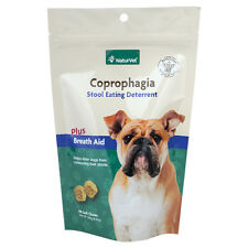 NaturVet COPROPHAGIA DETERRENT - Stop Dogs Puppies from Eating Poop 90 Chews