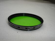 VIVITAR 62mm Light Green color  Filter No - 11 ( X1 )