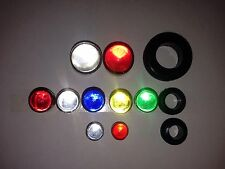 Glass Marble Cat Eye Sign Reflectors.Sample Packs. 3 Lots!! All Sizes & Colors.