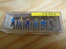 N 1:160 Preiser 79034 Schwellenträger. Figurines. Emballage D'Origine