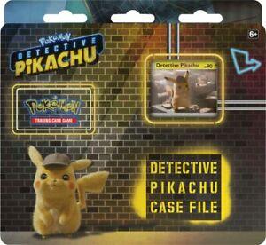 Pokemon Detective Pikachu Special Case File Box Sealed (3 packs)