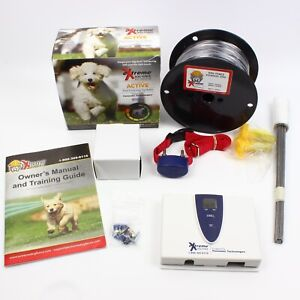 eXtreme Dog Fence EAF100 Active In-Ground Pet Containment Boundary System Kit