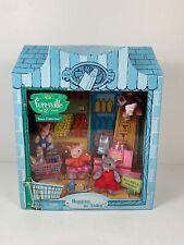 Mattel Furryville Town Hogging Aisles Mini Store Pig Plush Toy Set