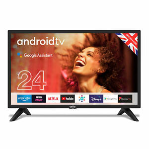 """Cello 24"""" Inch HD Ready LED 12V Smart Android Traveller TV with Google Assistant"""