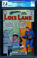 Superman's Girlfriend Lois Lane #43 CGC 7.5 -- 1963 - Fantucchio Ped #2010613008