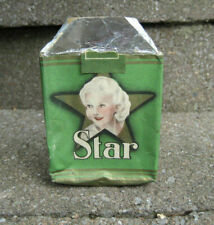 Vintage Star Cigarettes Tobacco Package....EMPTY....Movie Star Graphics