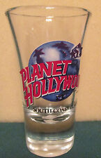 PLANET HOLLYWOOD  SOUTH COAST PLAZA, CA.   FLUTED SHOT GLASS