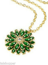 NWT AMRITA SINGH Jewelry Austrian Crystal Pendant Della Femina Fashion Necklace