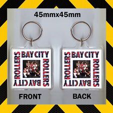 BAY CITY ROLLERS - CULT BAND - CD COVER KEYRING