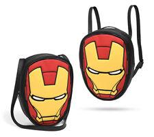 Marvel Ironman Helmet Convertible Shoulder Bag Backpack iron man avengers ultron