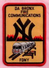 New York City Fire Dept Bronx Communications Patch