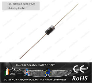 20x 1N5819 IN5819 DO-41 Diode 1A 40V Schottky Barrier Rectifier DIY Electrical