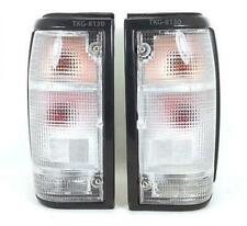 1 PAIR REAR TAIL LIGHTS WHITE LENS USE FOR MAZDA MAGNUM B2000 B2200 B2600 86-95