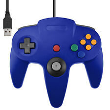 ★★ Manette USB Bleu pour PC/Mac - Design N64 Garantie 1an ★★