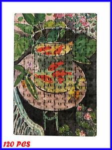 Henri Matisse - Goldfish Art Paint - 120 Piece Jigsaw Puzzle