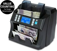 More details for note counter machine money currency banknote counting detector cash bill zzap
