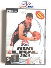 NBA Live 2004 PC Nuevo Precintado Sealed Videojuego Videogame PAL/SPA