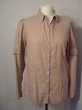 Noa Noa dusky pink/lilac cotton shirt M (12-14)