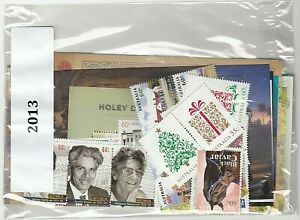 """2013 AUSTRALIA """"THE COMPLETE COLLECTION OF 2013 AUSTRALIAN STAMPS"""" FULL SET MNH"""