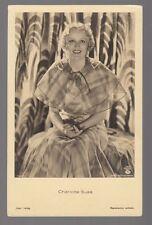 [57385] Circa 1930's GERMAN POSTCARD ACTRESS CHARLOTTE SUSA