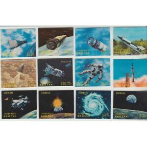 1970 Bhutan Conquest - Space 12 Val. 3D Photo MF77459