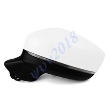 For Mazda CX-5 2017-18 White Left Fold Power Heat Turn Signal Blind Spot Mirror