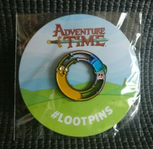 Official ADVENTURE TIME Pin Badge Loot Crate  NEW