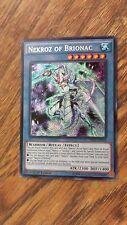 Nekkoz of Brionac single card Yu-Gi-Oh! THSF-EN014 1st Edition Yugioh card game