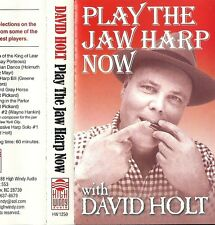 "David Holt - Play the Jaw Harp Now (Cassette 1988 High Windy) ""Jew's Harp"""