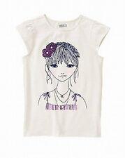 Crazy 8 by Gymboree purple flower girl top size S M L XL