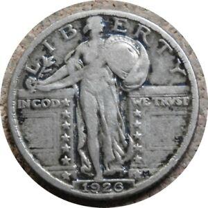 elf Standing Liberty Quarter 1926  Szego Collection