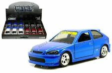 Jada 1:32 Display Metals JDM Tuners 1997 Honda Civic EK Type-R Diecast Car 30973